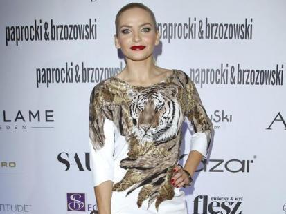 Maja Frykowska wspiera młode talenty