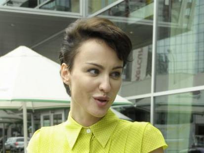Maja Hirsch w nowej fryzurze