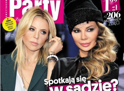 """Maja Sablewska i Edyta Górniak na okładce nowego """"Party"""""""