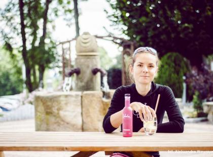 Maja Włoszczowska regeneruje siły przed jesienią. Odwiedziła popularny hotel i spa