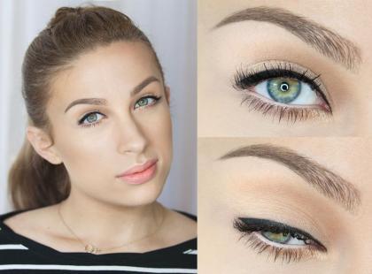 Makijaż dla daleko osadzonych oczu krok po kroku [video]