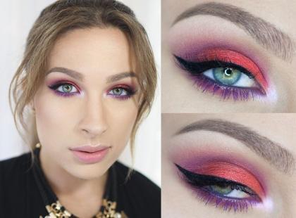 Makijaż dla zielonych oczu krok po kroku [video]