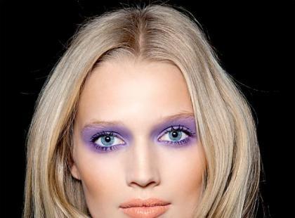 Makijaż: Fioletowy zawrót głowy