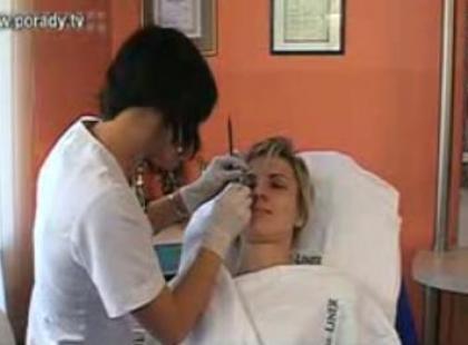 Makijaż permanentny brwi (video)