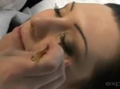 Makijaż ślubny - jak podkreślić oczy (video)