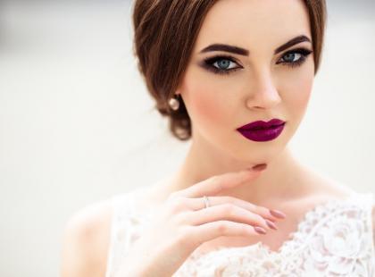 Najmodniejszy Makijaż I Fryzury ślubne 2018 Polkipl