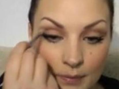 Makijaż ślubny w odcieniach brązu