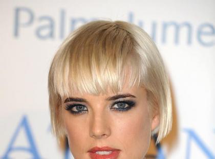 Makijaż w stylu Agyness Deyn