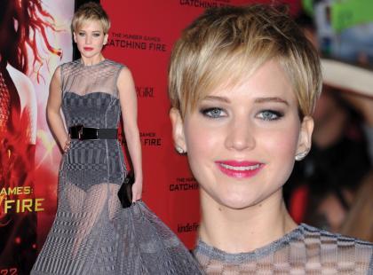 Makijaż w stylu gwiazdy hollywood Jennifer Lawrence