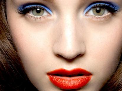Makijaż: Wszystkie odcienie niebieskiego