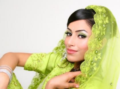 Makijaż z Bollywood
