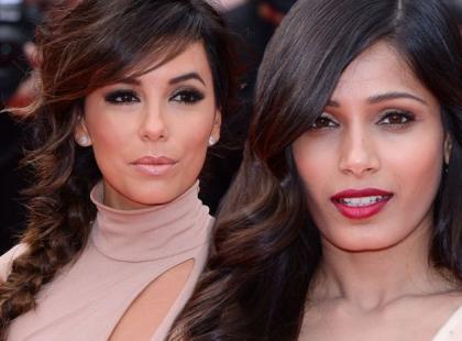 Makijaże i fryzury gwiazd w Cannes