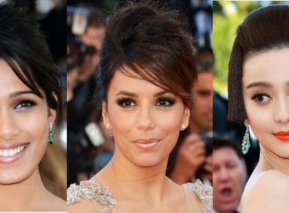Makijaże i fryzury na Festiwalu w Cannes 2012