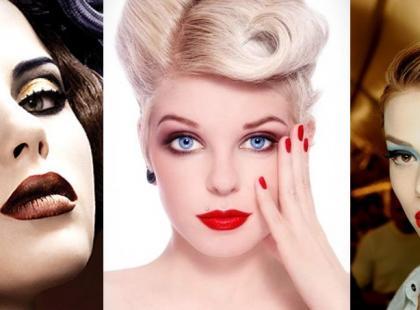 Makijaże inspirowane retro