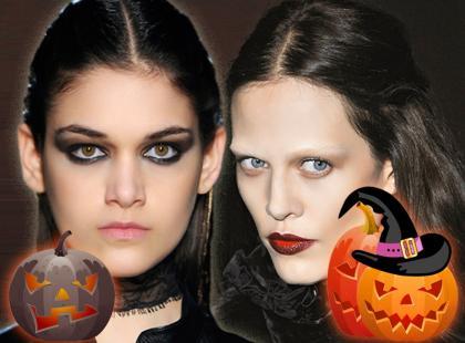 Makijaże na Halloween 2012