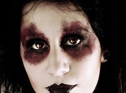 Makijaże straszne i straszniejsze