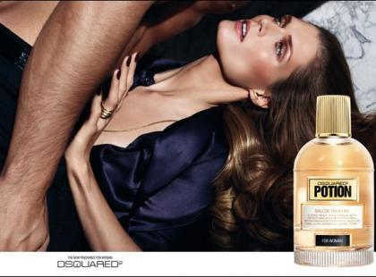 Małgorzata Bela w reklamie perfum DSQUARED2!