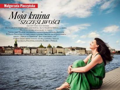 Małgorzata Pieczyńska - Moja kraina szczęśliwości