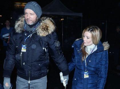 Małgorzata Rozenek i Radosław Majdan na Rajdzie Barbórki