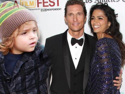 Maluch w stylu Hollywood - Levi McConaughey