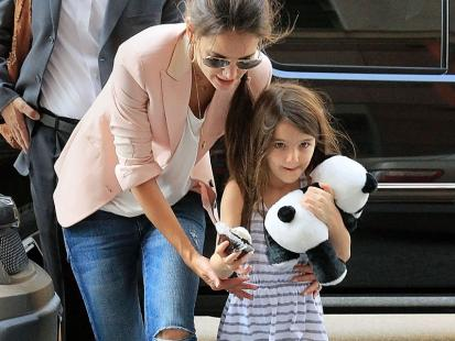 Maluch w stylu Hollywood - Suri Cruise