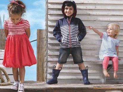 Mały marynarz wg Mothercare na sezon wiosna-lato 2014
