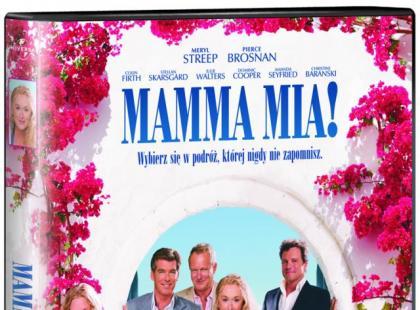 """""""Mamma Mia!"""" na DVD"""