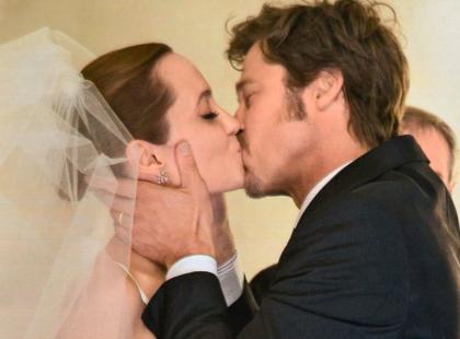 Mamy zdjęcie ze ślubu Angeliny Jolie i Brada Pitta!