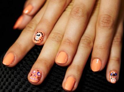 Manicure na Halloween krok po kroku