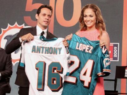 Marc Anthony kupił drużynę Miami Dolphins