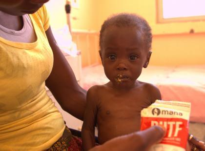 Marcelino, został uratowany od głodowej śmierci. Pomóż uratować inne dzieci!