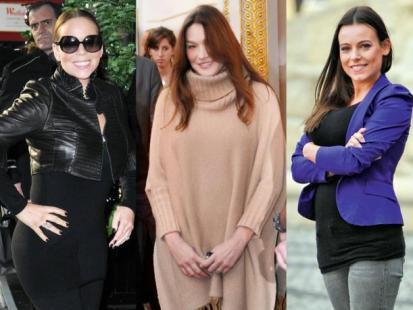 Mariah Carey, Carla Bruni i Anna Mucha - Wystrzałowe mamy