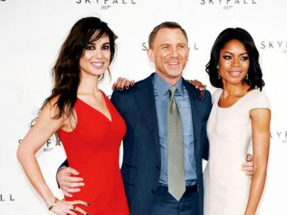 Marlohe, Craig, Harris - Agent 007 powraca