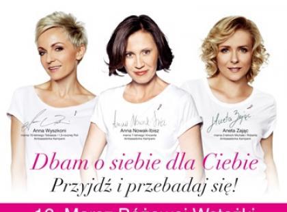 Marsz Różowej Wstążki przeszedł ulicami Warszawy!