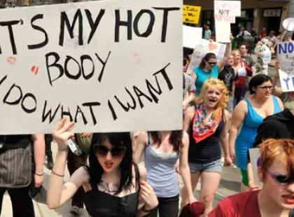 Marsze dziwek, czyli nie gwałćcie nas!