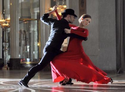 Marta Żmuda Trzebiatowska w ognistym tango
