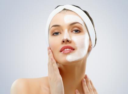 Maski z naturalnego jedwabiu na twarz