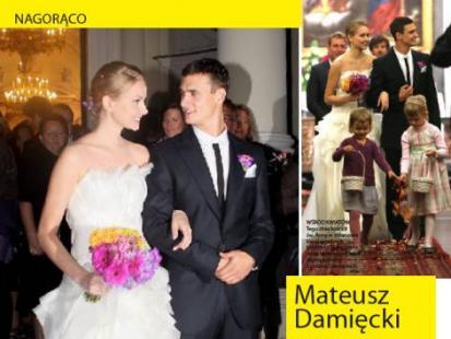 Mateusz Damięcki się ożenił!