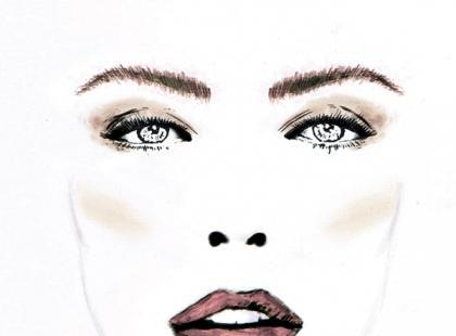 Matowy makijaż w beżach - krok po kroku