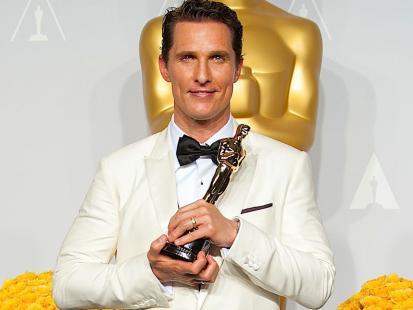 Matthew McConaughey - kim jest przystojniak i laureat Oscara?