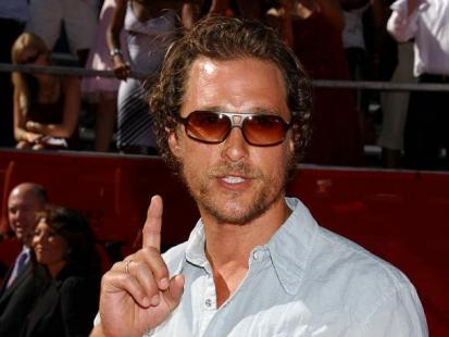 Matthew McConaughey nie do usidlenia
