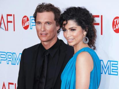 Matthew McConaughey oświadczył się Camili Alves