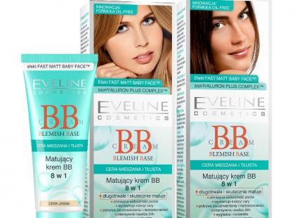 Matujący krem BB - Eveline Cosmetics