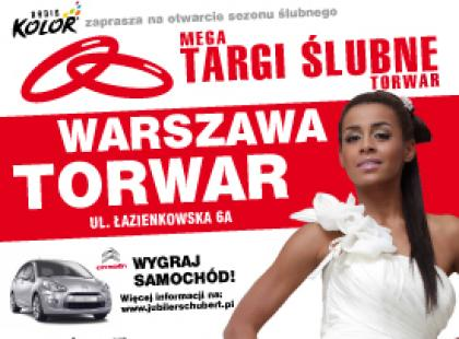 Mega Targi Ślubne Torwar już 3-4 grudnia w Warszawie