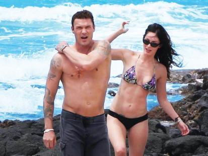 Megan Fox i Brian Austin Green - W pierwszą rocznicę