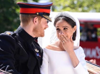 Meghan Markle wszyła coś szczególnego do swojej sukni ślubnej! Harry musiał być wzruszony