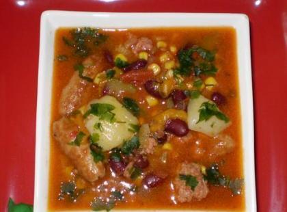 Meksykańska zupa wg Babcigramolki