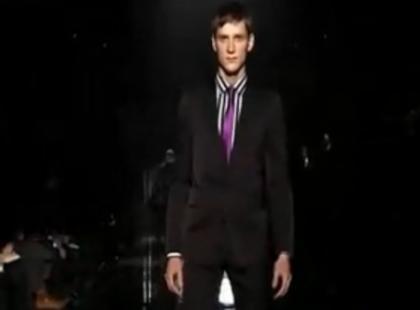 Męska kolekcja Gucci jesień/zima 2009/2010