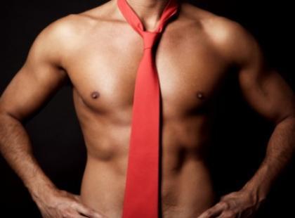 Męski zwis czyli... krawat