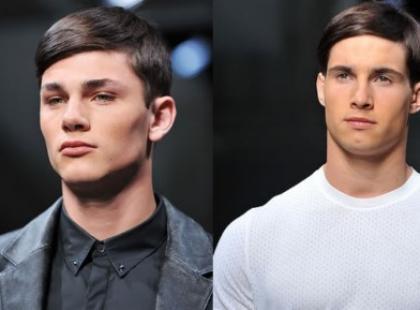 Męskie cięcia - fryzury męskie